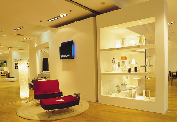 // Ligne Roset Furniture Shops @ China