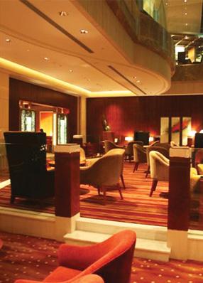 // Shangri-La Hotel Lobby Lounge @ Shanghai Pudong