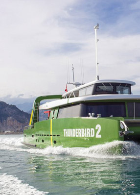 // Thunderbird 2 Catamaran 22